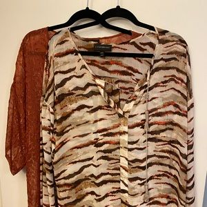 2 Lane Bryant blouses for $25 - size 18/20